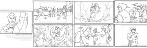Korra Storyboards: Excerpt by MegSyv