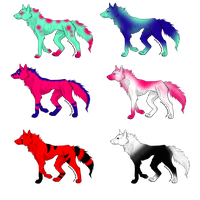 WOLF ADOPTS: NAME YOUR PRICE~ OPEN~ by PurplePeople1995