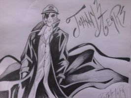 Johnny 3 Tears by Kitel7997