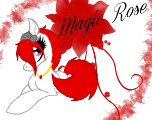 Magic Rose by theWolfdragon21