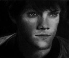 Jared Padalecki-Sam Winchester by IsabelIntangible
