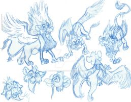 New Griffin Design Concept by Animator-who-Draws