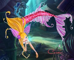 Corai : Mermaid Of The Coral Reef by ColorfullWinx
