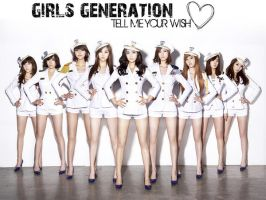 SNSD Genie Wallpaper by browneyedfairy23