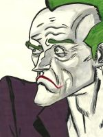 ~ Arkham City Joker ~ by DaphneDrawings