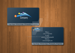 extriblue business card by amine5a5