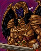HU 61 - Goldar by SeanRM
