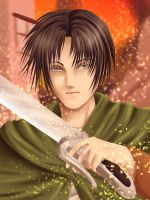 Levi Rivaille - Practice by Heart-tsukikage