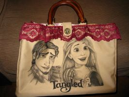 Disney Tangled Purse - front by daphnetails