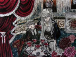 Vincent and Undertaker by AsiMakri