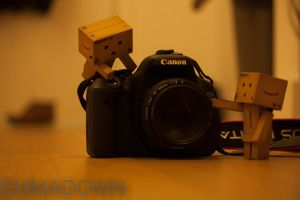 'Ready to take a picture?' - Danbo Series by oEmmanuele