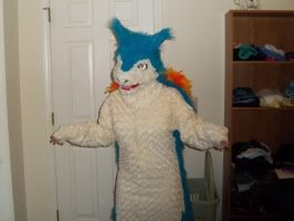 Typhlosion Fursuit by jade-costumes
