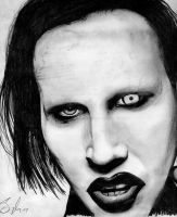 Marilyn Manson- 1 by raul-duke-05