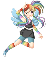 +Mlp Keychain - Rainbow Dash+ by Amai--Kiss