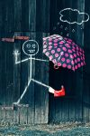 Bucktoothing in the Rain by iKate