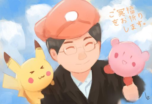 Thank you, Mr. Iwata by chaosringen