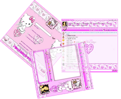 My Hello Kitty Skin Msn by LadyPinkilicious