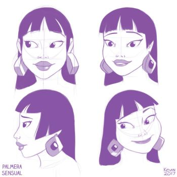 Chel sketches by PalmeraSensual