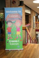 Taliesin Banner In Situ by Taylor-made