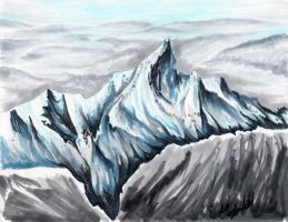 Cold Mountain by EnigmaticPhantasy