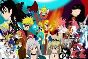 Shonen Alliance Desktop by ssvineman