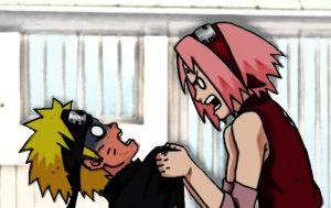 Narusaku- YOU BAKA by Sanin2