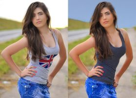 Girl Retouch by Attani
