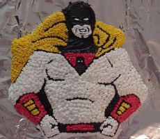 Space Ghost Cake take one by Ranasp
