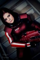 Mass Effect 3: Commander Shepard by VariaK