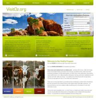 VisitOz Website Template 2 by RevoD