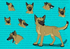 Malinois Extravaganza by any204