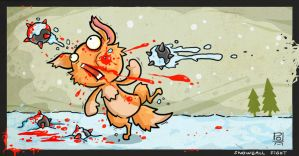 Snowball Fight by polawat
