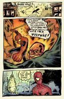 SPIDEY page 1 by davechisholm