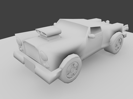 Toon Car WIP Model by philman401