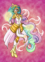 I, Princess Celestia by TanjatheBat