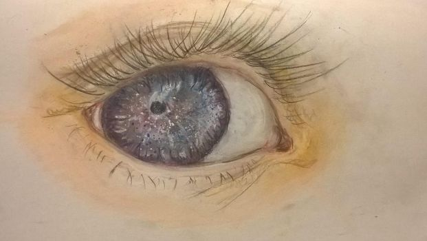 I can see the whole universe in your eyes.... by Sarsa85