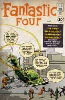 Fantastic Four No. 1 - Alternate Cover by johnrholmes