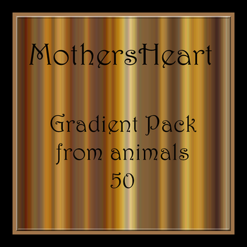 Animals Gradient Pack by MothersHeart