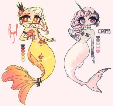 [ADOPTABLE] MERMAID 2 by agent-lapin