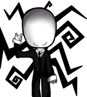Chibi Slenderman by MikoLol
