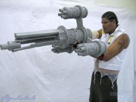 Final Fantasy - Barret by cosplaybrasil