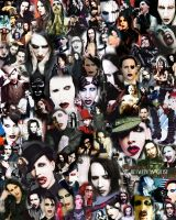 Marilyn Manson by DragonInk7