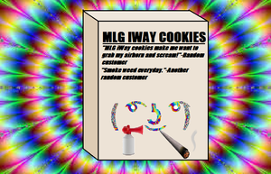 MLG iWay Cookies by tigerclaw64