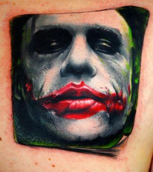 Incubus Tattoos on As Promised The Tattoo Of The Joker Done By Triple Six Studios In