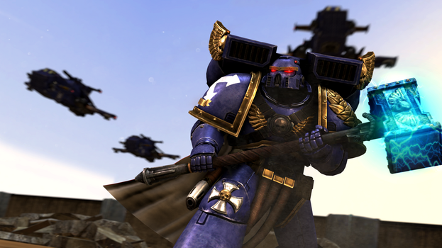 [SFM Warhammer 40k] Protector of the Emperor by FD-Daylight