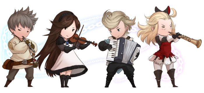 Bravely Default - Theme Instruments by sandara
