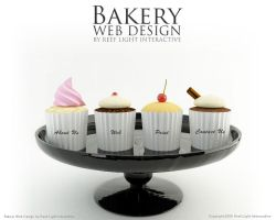 Bakery Web Design by saltshaker911
