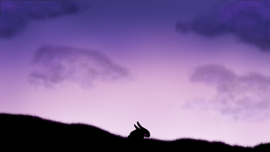The Black Rabbit by EquinoxialSolstice