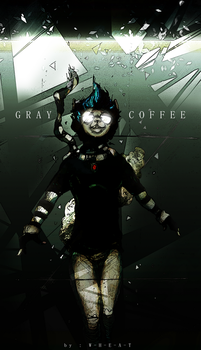 Commission PERSONA - GRAY COFFEE by W-H-E-A-T