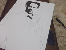 Robert Downey Jr. (Draft) by Monstrenga-Do-Lago